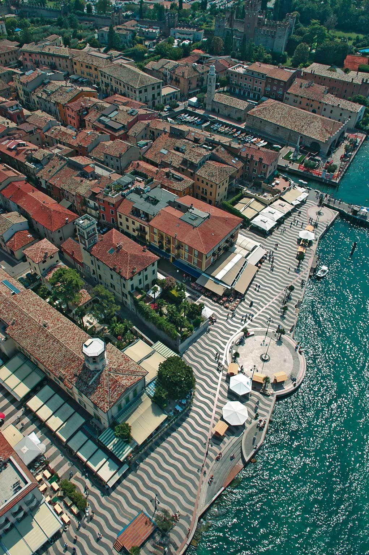 Foto | Lazise dall'alto Lazise - Lake Garda, Veneto, Italy, province of Verona