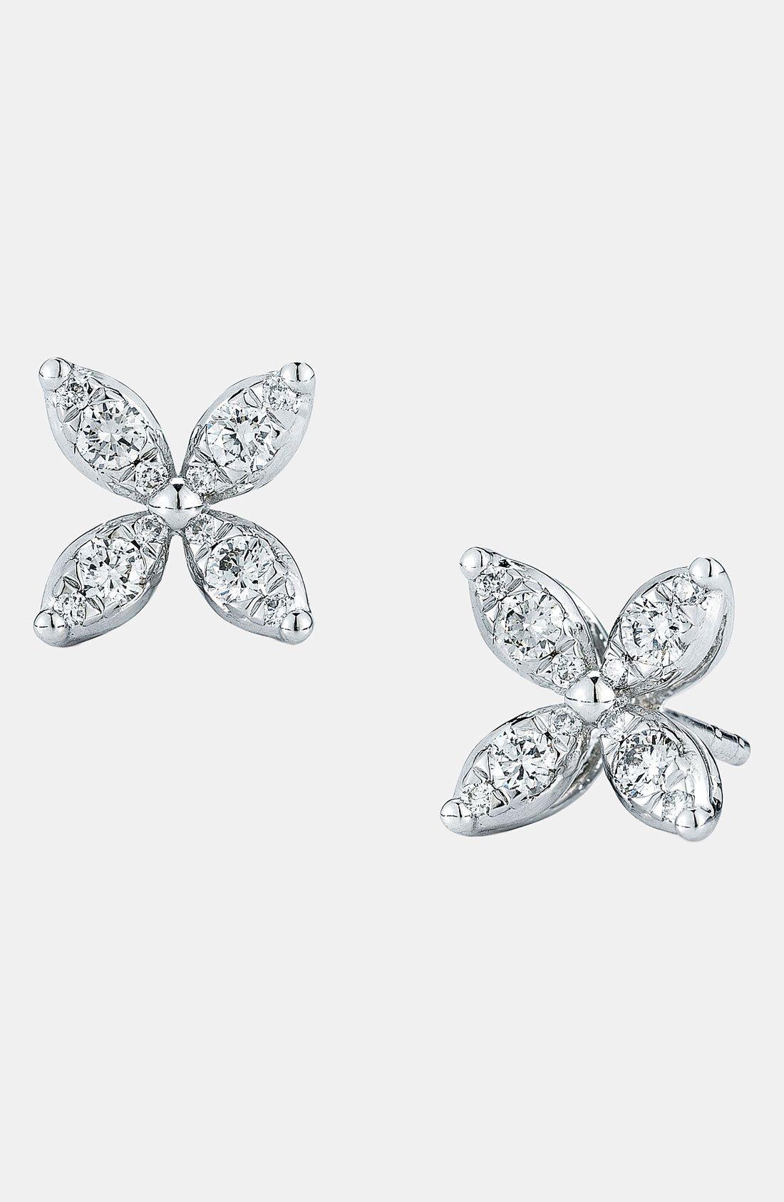 'Sunburst' Diamond Stud Earrings by Kwiat on HeartThis
