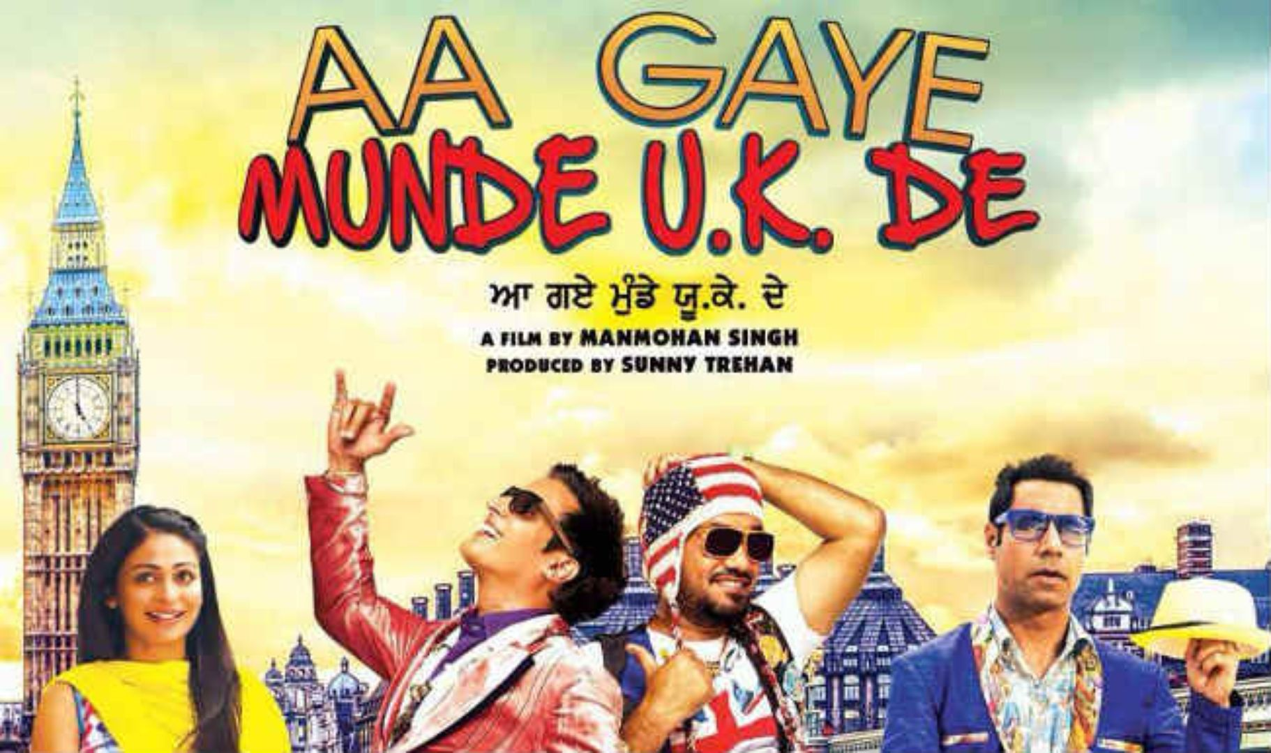 Watch Aa Gaye Munde UK De Full Punjabi Movie OnlineHere At