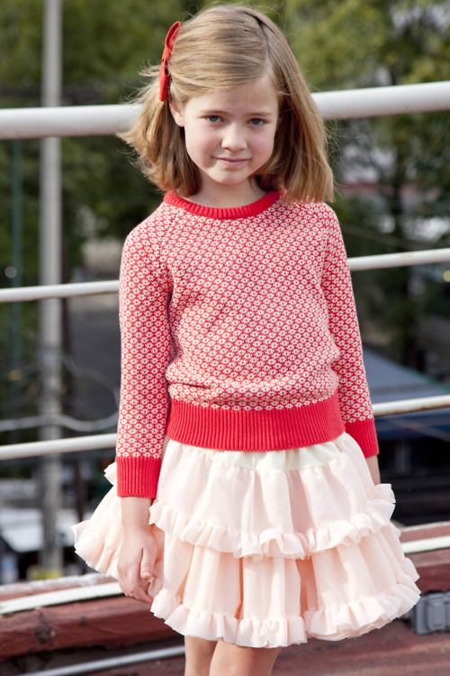 Kids Styles for Spring and Summer by #AmericanApparel