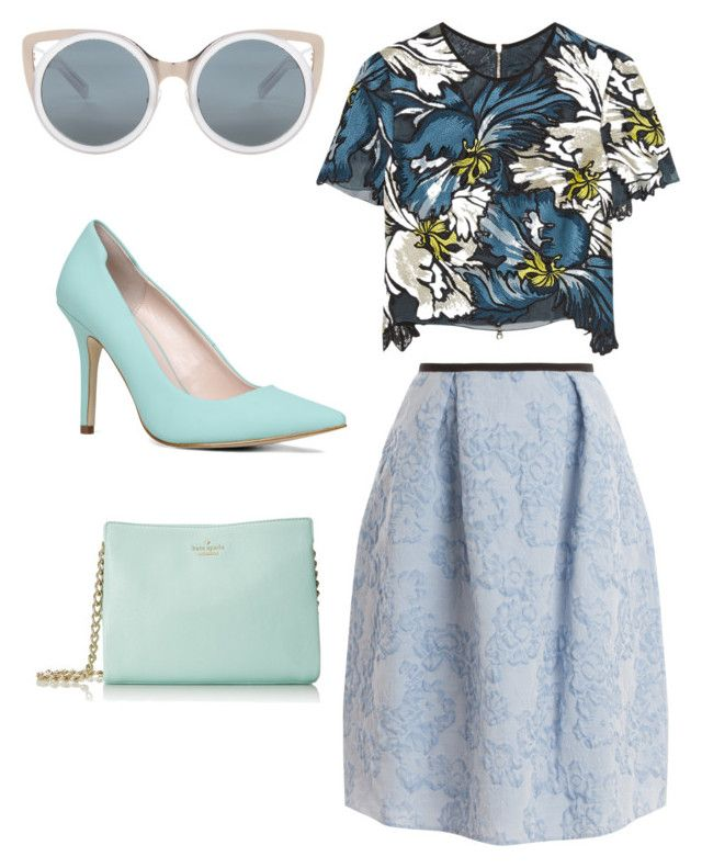 """""""Erdem"""" by brittanysherwin on Polyvore featuring Erdem, ALDO and Kate Spade"""