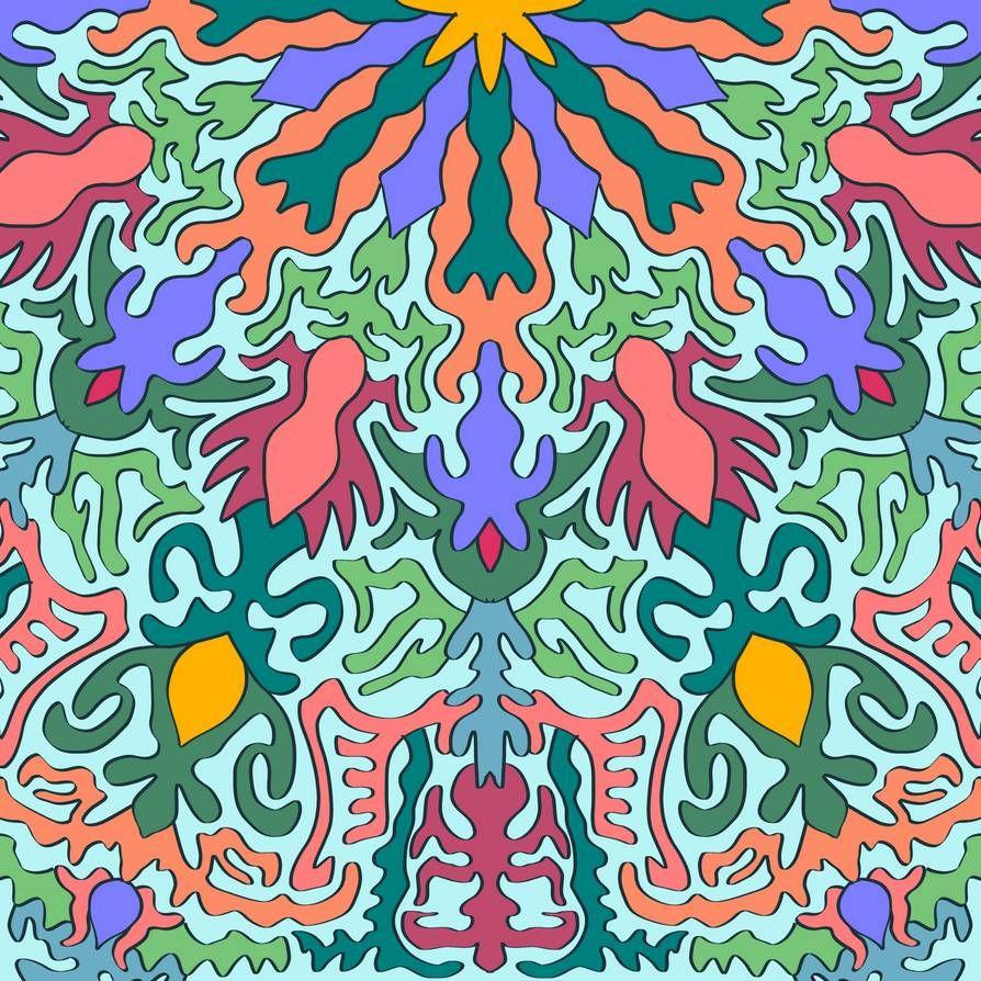 A mandala created with Krita.  #krita #digital #meditation #mandala #pattern #abstract  #expressionism  #abstractart #abstractexpressionism #digitalart #digitalpainting #art #huion #prints #printsforsale #printsavailable #pixel #pixelart #gifts #merch #shopping #deviantart