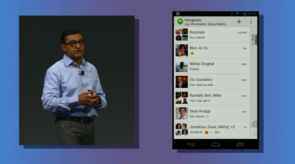Download Google Hangouts Unified Messaging App For Android