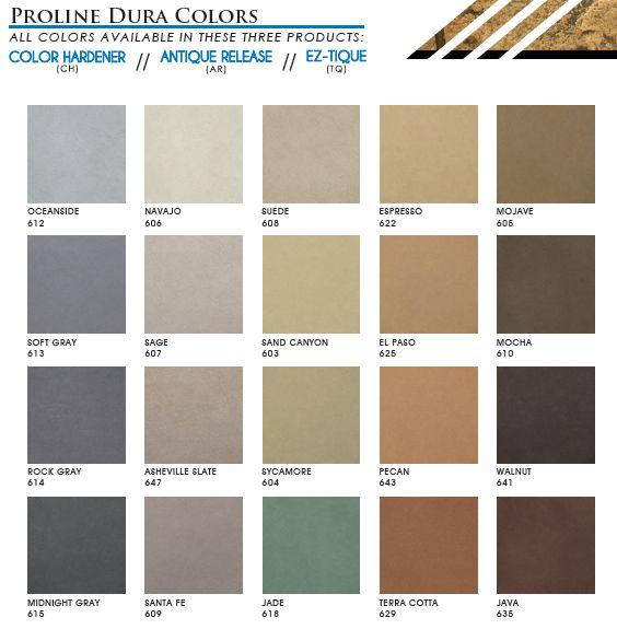 Proline Dura Colors Line Of Color
