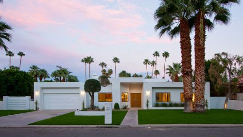 Palm Springs Celebrity Homes Map White House