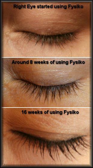 Grow longer and fuller eyelashes   Fysiko Eyelash Growth ...