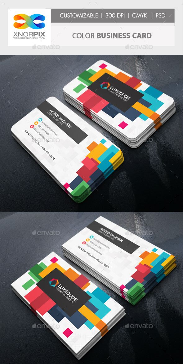 Color business card template psd design business card templates color business card template psd design flashek Choice Image