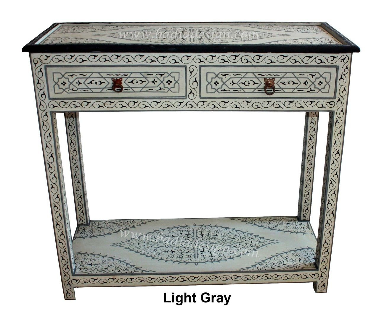 Badia Design Inc Store   Hand Painted Buffet Table   HPB005, $595.00 (http: