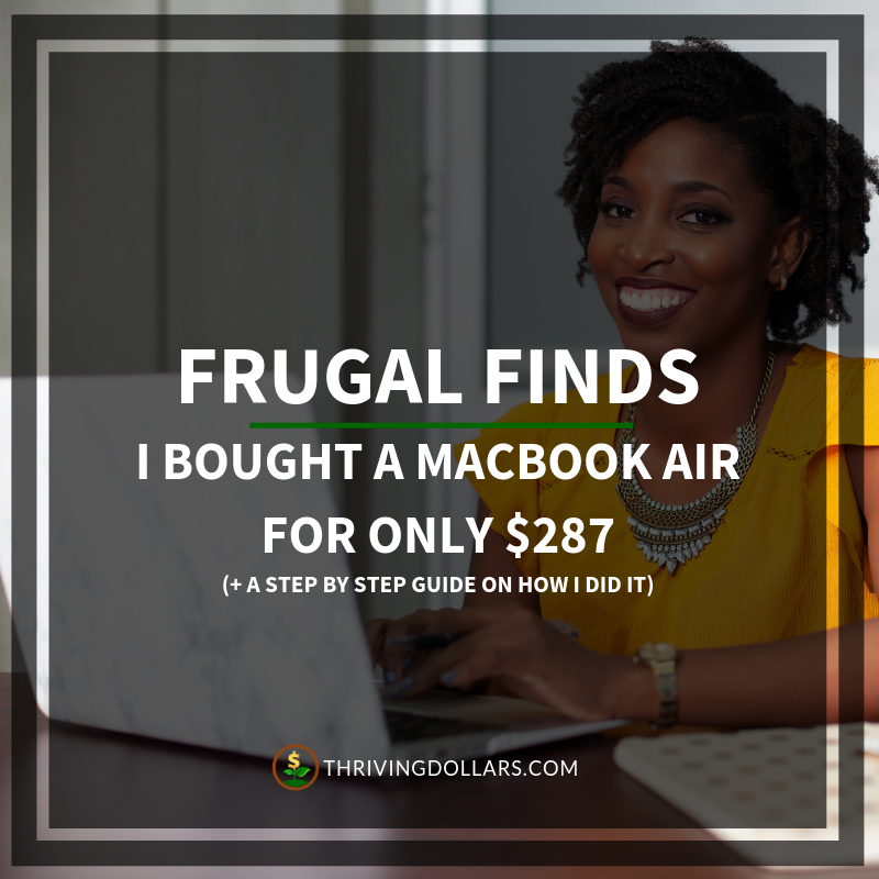 I Bought a MacBook Air for Only 287 Macbook air