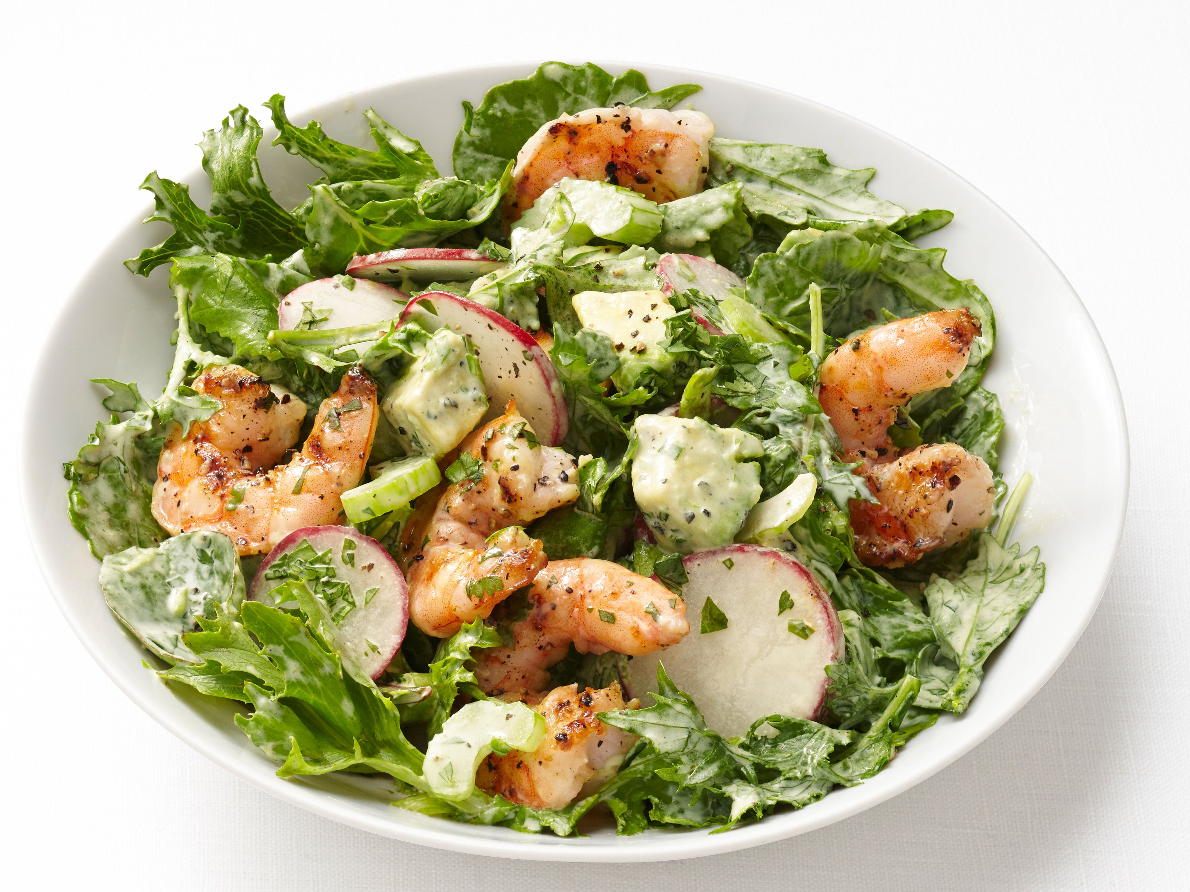 Shrimp and avocado salad recipe avocado salad recipes avocado shrimp and avocado salad satisfying fast cooking shrimp are the ultimate weeknight salad topper via food network forumfinder Gallery
