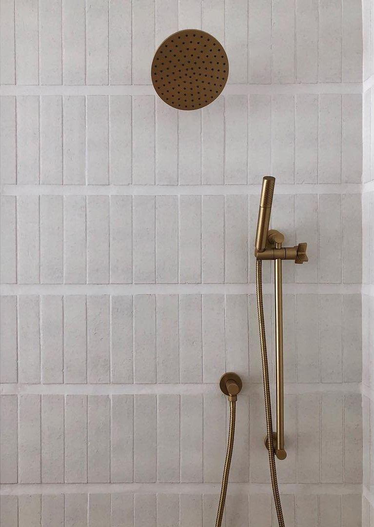 Modern Farmhouse Brick Cle Tile Bathroom Trends Bathroom Wall Tile Bathroom Inspiration