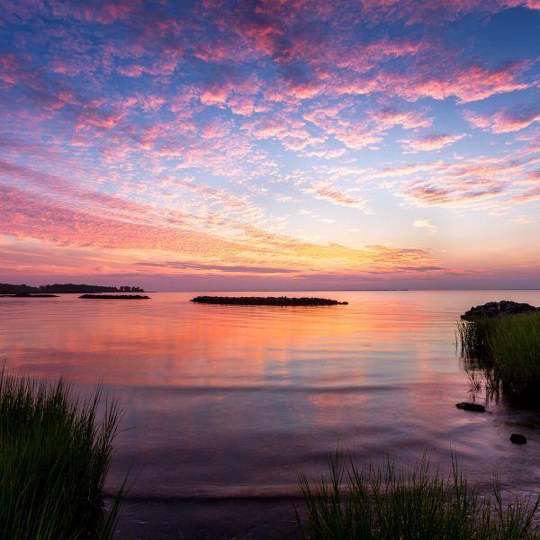 July S Heartbeat Chesapeake Bay Sunrise Maryland Landscape Photography Landscape Photography Chesapeake Sunrise