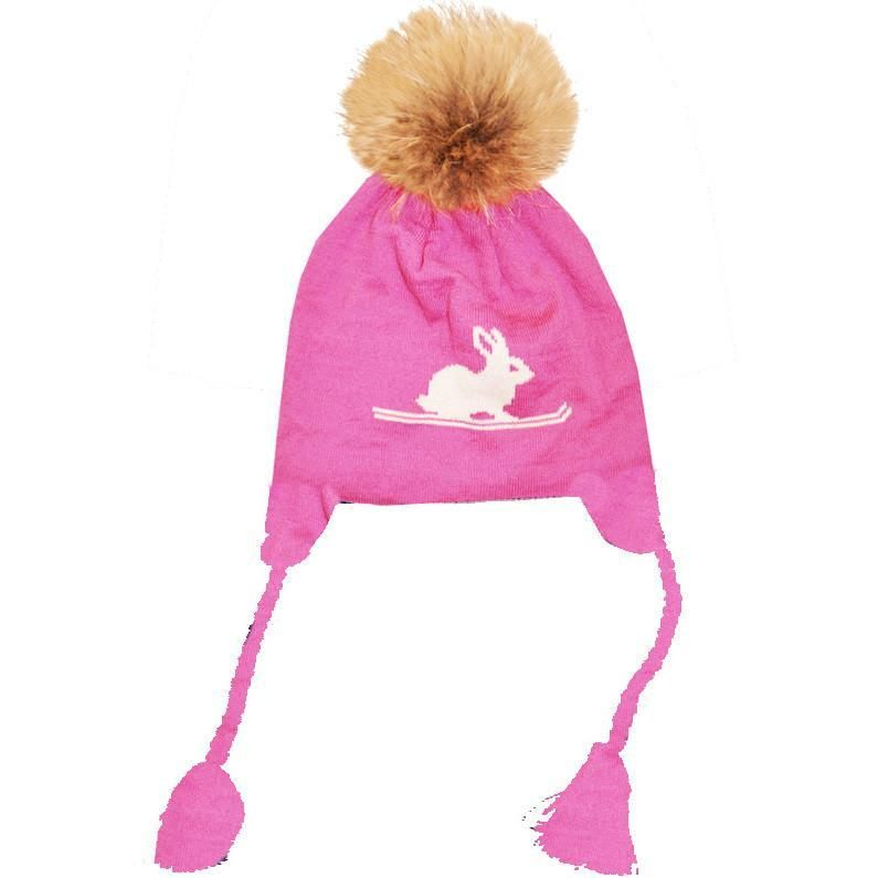 fb6de412693 Ski Bunny Child Pom Pom Hat Ski Bunnies