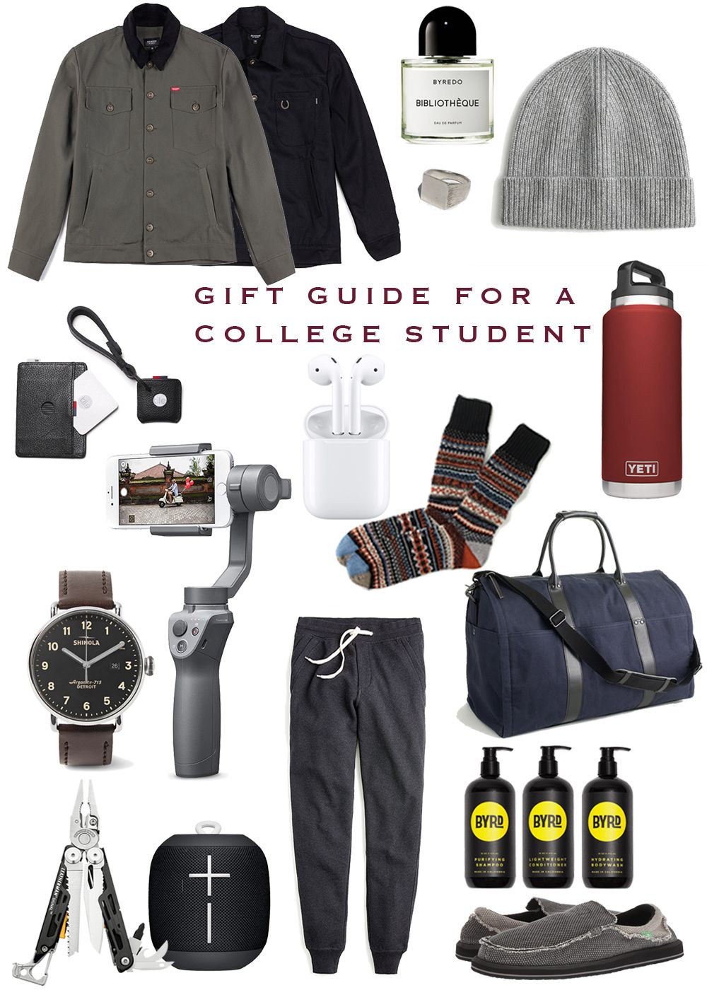 Gift Guide For College Age Guys Best Gifts For Boys College Guy Gifts Gifts For College Boys