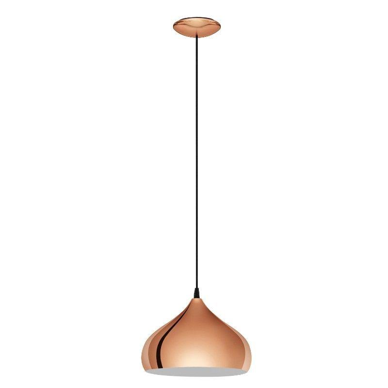 لمبات سقف ديكور الثريات سبوتلايت متجر Copper Pendant Lights Copper Ceiling Lamp Copper Dome Pendant Light