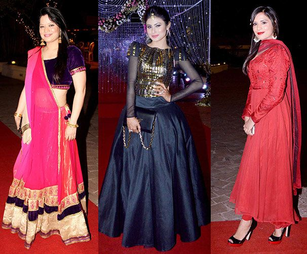 Popular TV Actress Aamna Sharif Wedding Reception Pictures