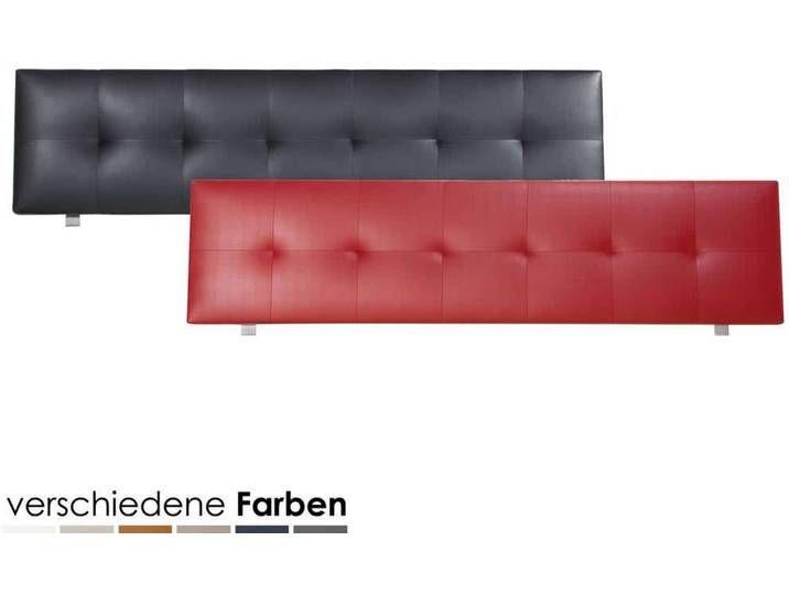 Hasena Dream-Line Kopfteil Ronna 160 cm / PK3 Alpina 394 Smoke