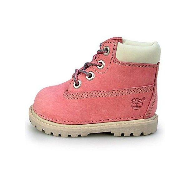 Girls Childrens Kids Infants Babies Timberland Pink Canvas Plimsolls Trainers UK