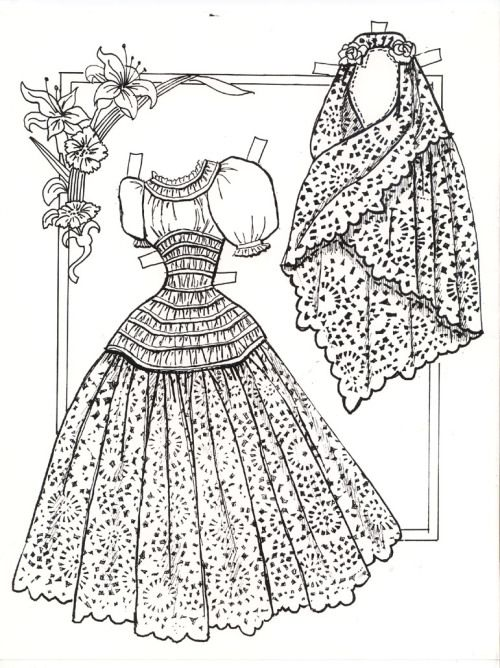 Ramona paper doll / gabipaperdolls.blog