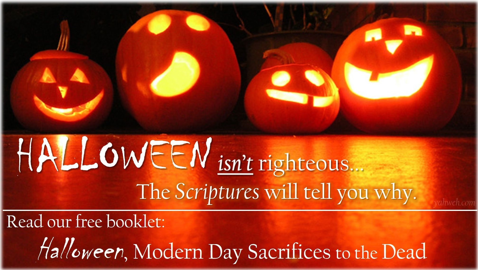 Think Halloween is righteous? Think again. Read all about the ...