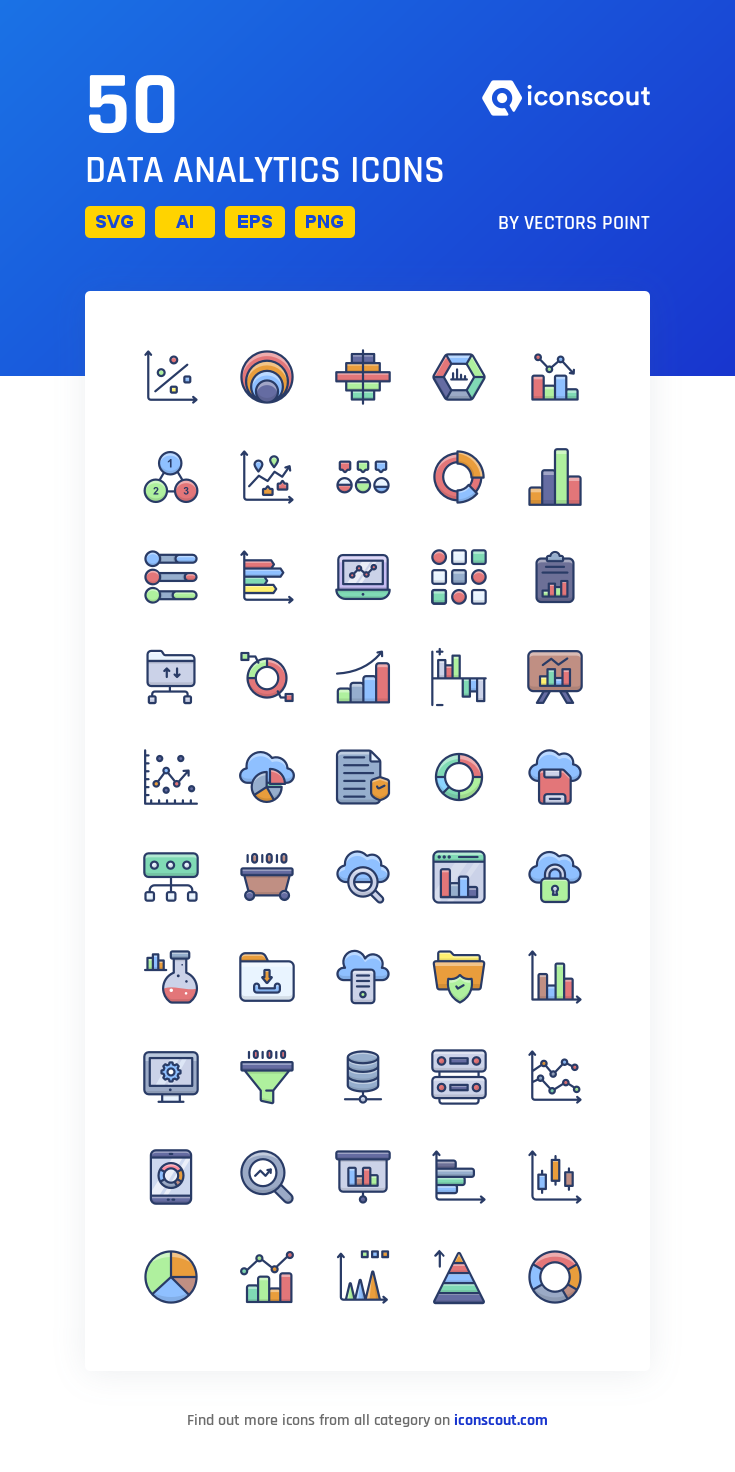 Download Data Analytics Icon Pack Available In Svg Png Eps Ai Icon Fonts Data Analytics Data Folder Downloading Data