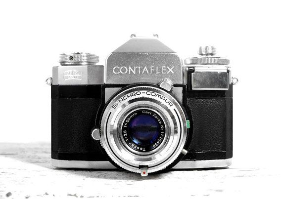 Zeiss Ikon Contaflex IV vintage SLR camera by