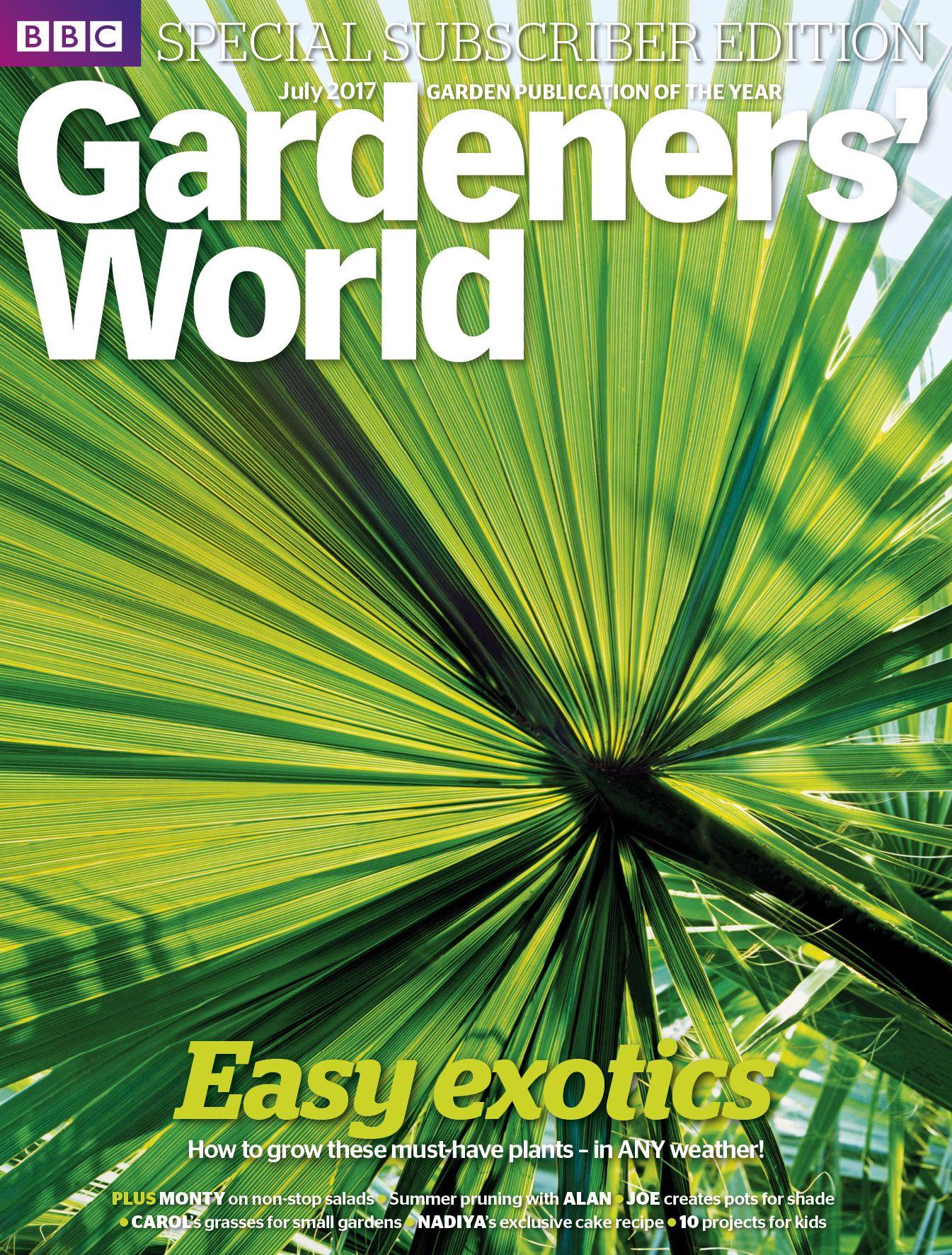 July 2017 Trachycarpus Fortunei By Alamy Andrea Jones Images Gardening Magazines World Garden