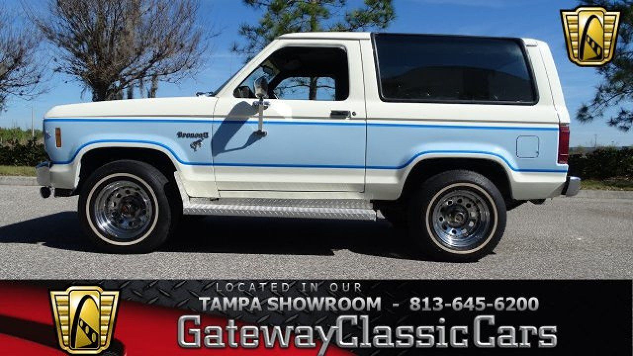 85 Ford Bronco 2 For Sale