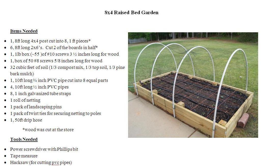 4X8 Raised Bed Garden Plans Raised Garden Beds 400 x 300