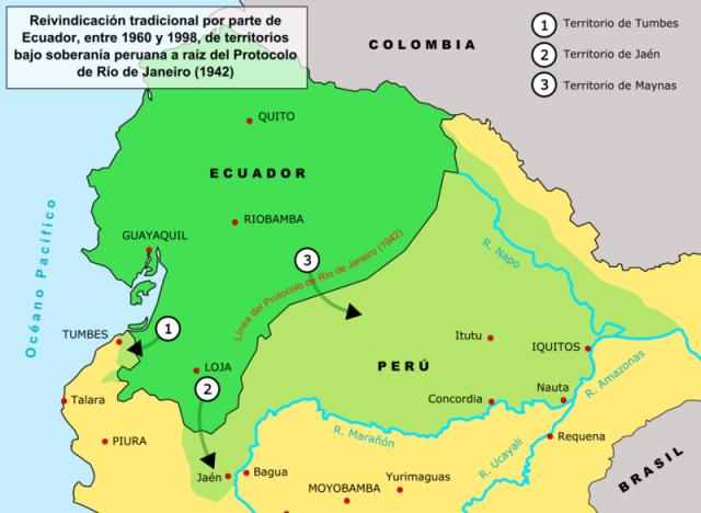 Ecuador S Twentieth Century Border Dispute With Peru From Http Xenohistorian Faithweb Com Latinam Ecuador Quito Ecuador Peru