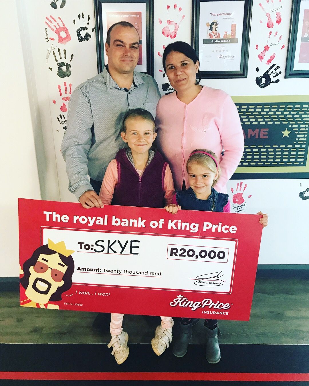 Skye Received A R20 000 Donation Makingadifference With Images