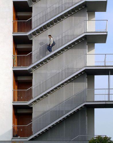 Arquitectura Casas Escaleras Exteriores Arquitectura: Escaleras, Escalera Arquitectura, Escaleras Exteriores