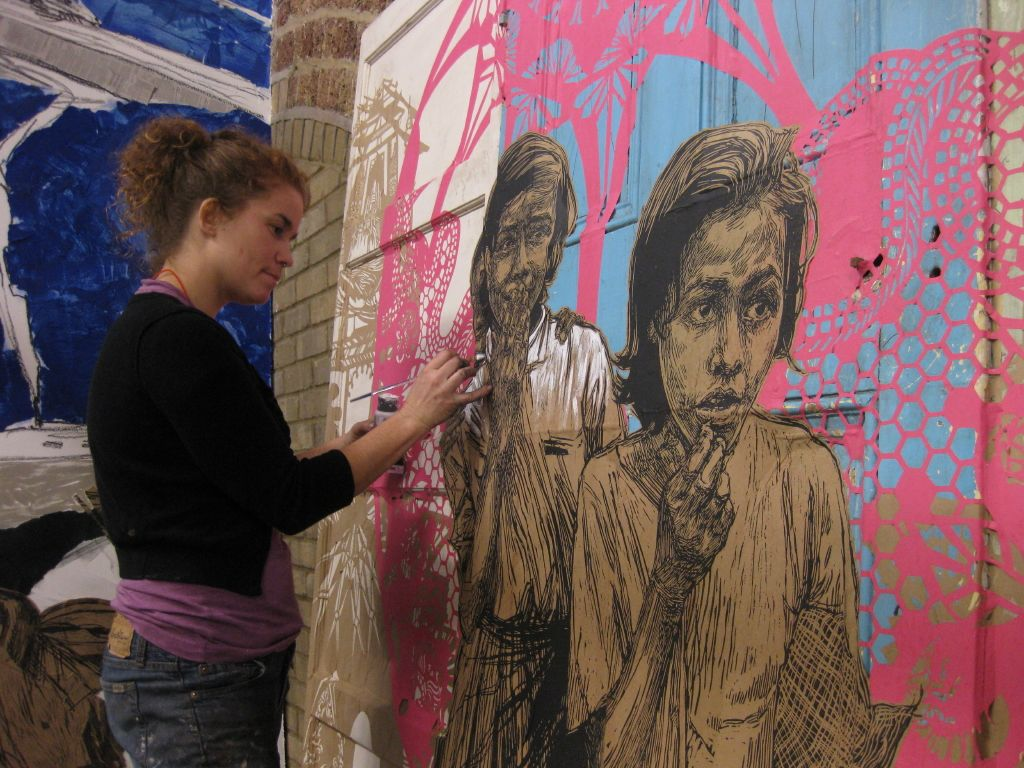 """Set-up: Swoon – """"Small Acts of Resistance"""" group show @ Black Rat Projects « Arrested Motion"""