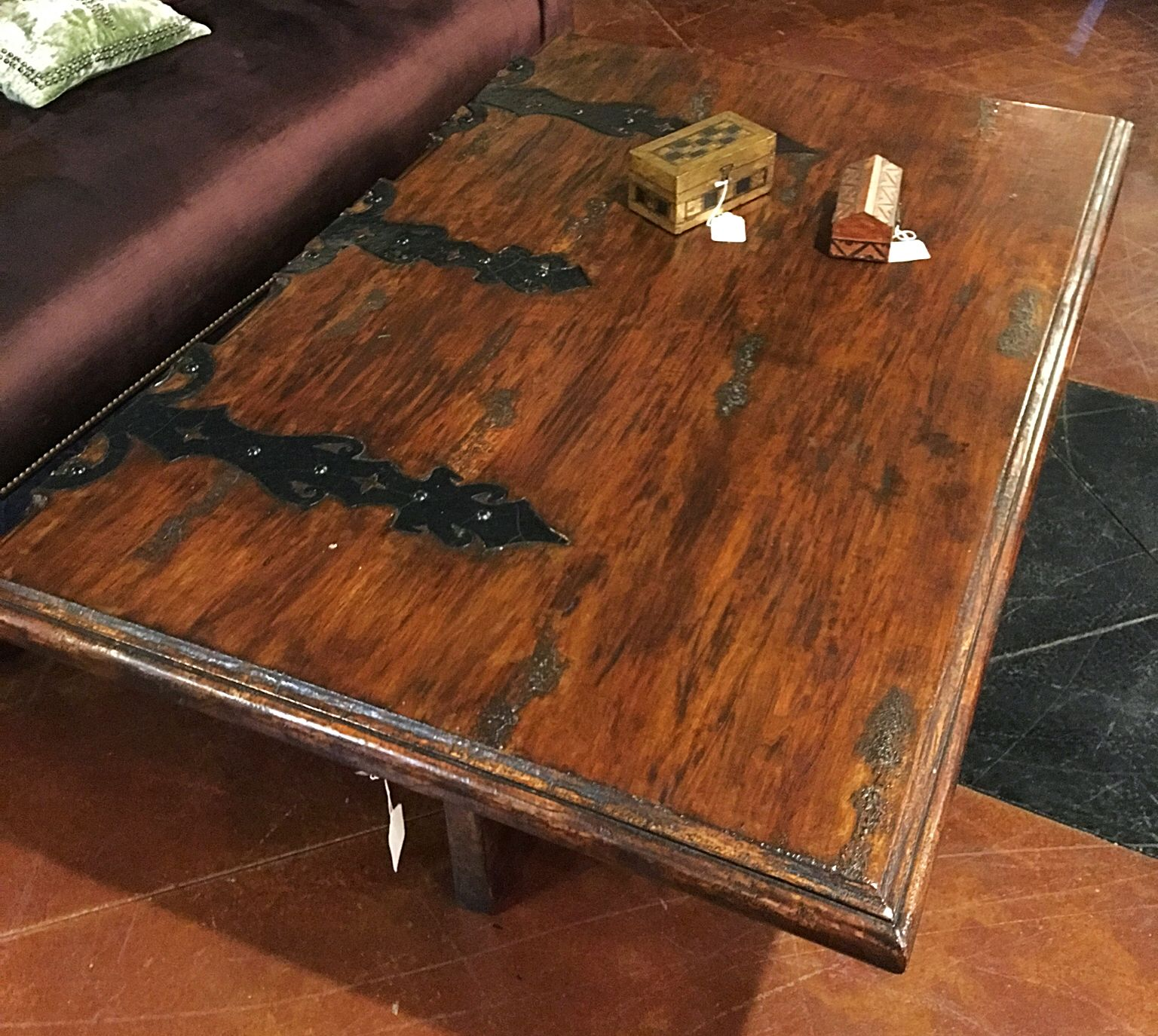 - Spectacular Faux Door Coffee Table - Super Cool Coffee Table