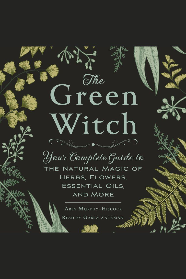 Discover the power of natural magic and healing through herbs, flowers, and essential oils in this new guide to green witchcraft.   At her core, the green witch is a naturalist, an herbalist, a wise woman, and a healer. She embraces the power of nature; she draws energy from the Earth and the Universe; she relies on natural objects like stones and gems to commune with the land she lives off of; she uses plants, flowers, oils, and herbs for healing; she calls on nature for guidance; and she respe #greenwitchcraft