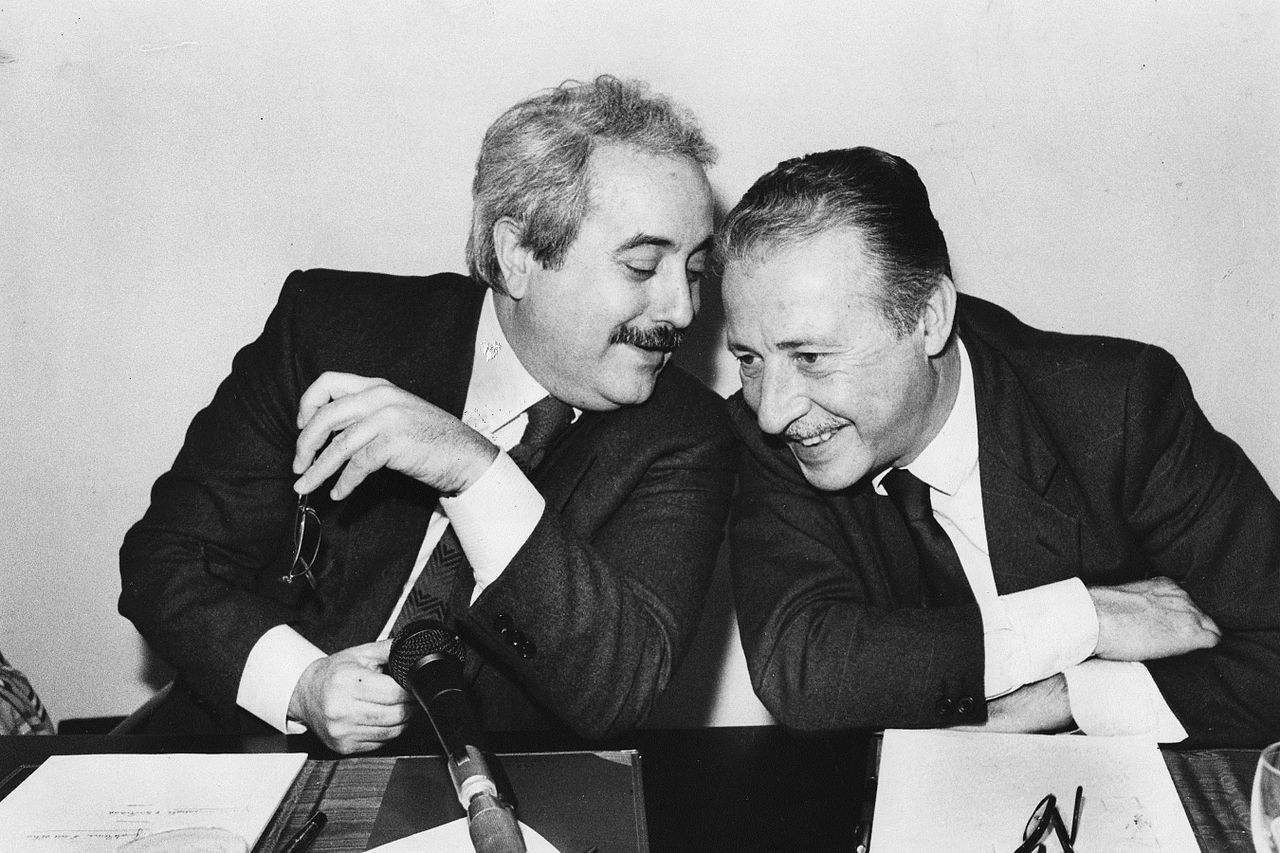 "Giovanni Falcone & Paolo Borsellino    ""You can stop a man, but the strength of his ideas live on in other men.""  ~ Paolo Borsellino"