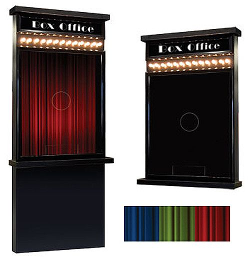 Theater Room Snack Bar: Image Of ILLUMINATED TICKET BOOTH