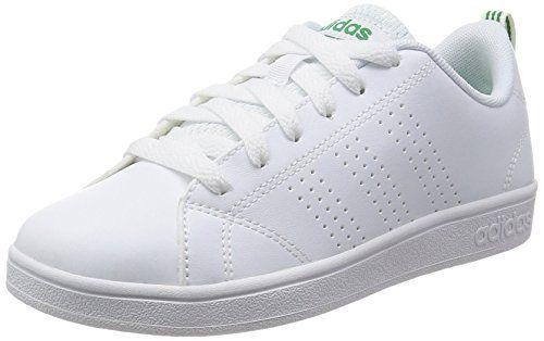 adidas Vs Advantage Clean K, Scarpe da Ginnastica Bambino, Bianco, 38 EU