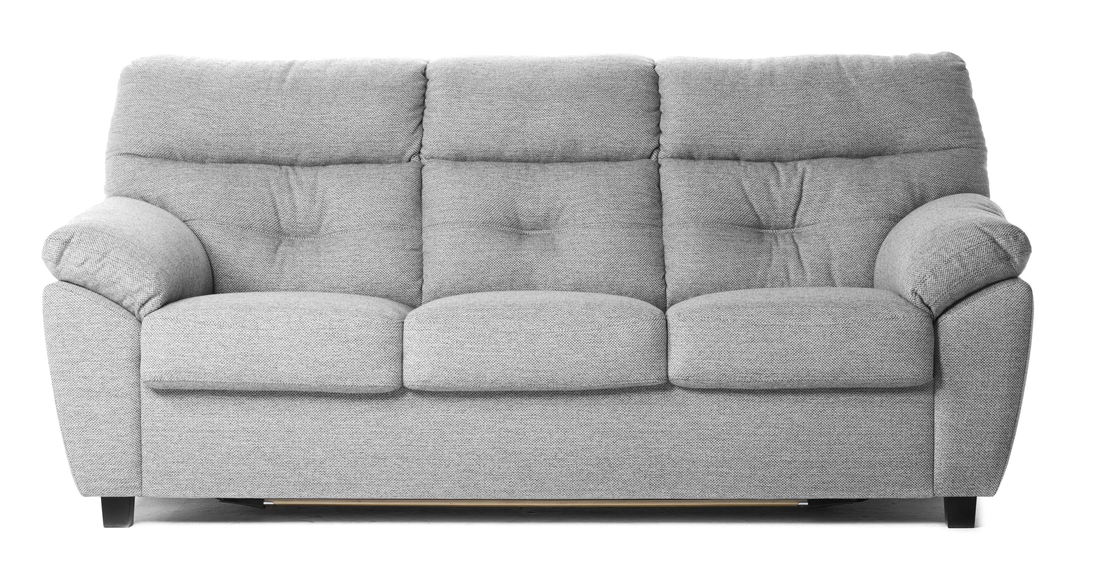 MIO Traditionell 3 sits bäddsoffa med hög rygg som ger stödåt axlar och nacke Soffan bäddas