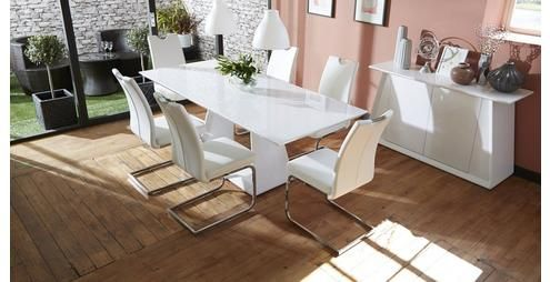 Glaze Dining Extending Table & Set of 4 Chairs Glaze | DFS ...