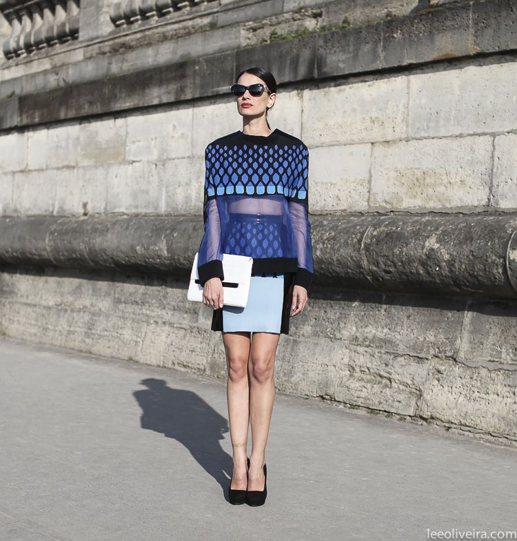 Street Style Paris #fashion