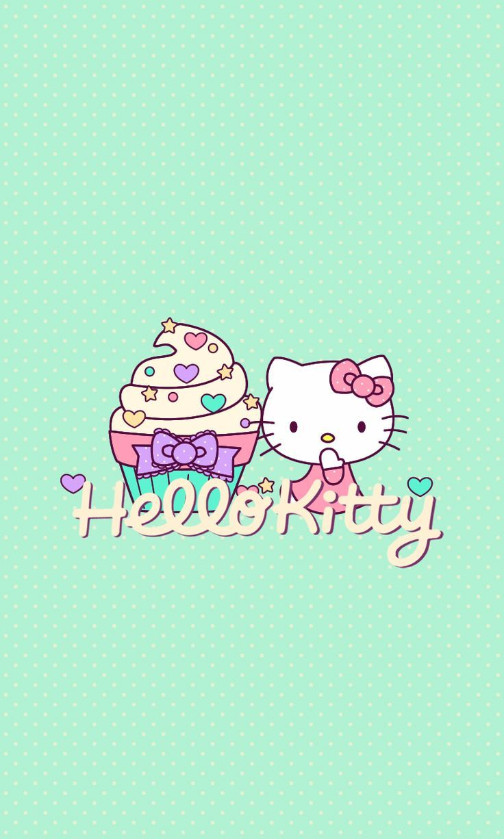 Wallpaper iphone keroppi - Hello Kitty Find More Super Cute Kawaii Wallpapers For Your Iphone Android