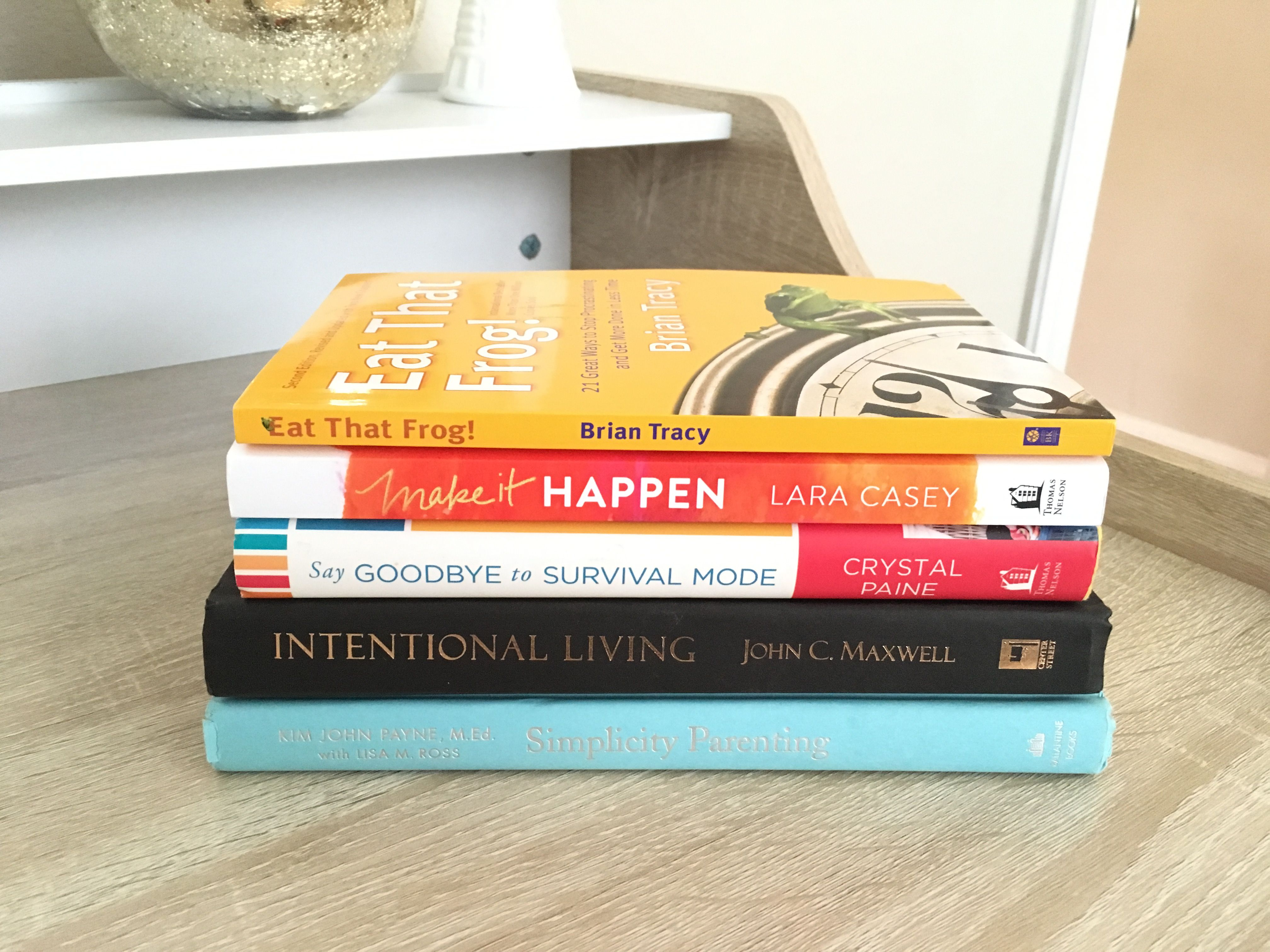 My Top 7 Favorite Books On Productivity Amp Intentional