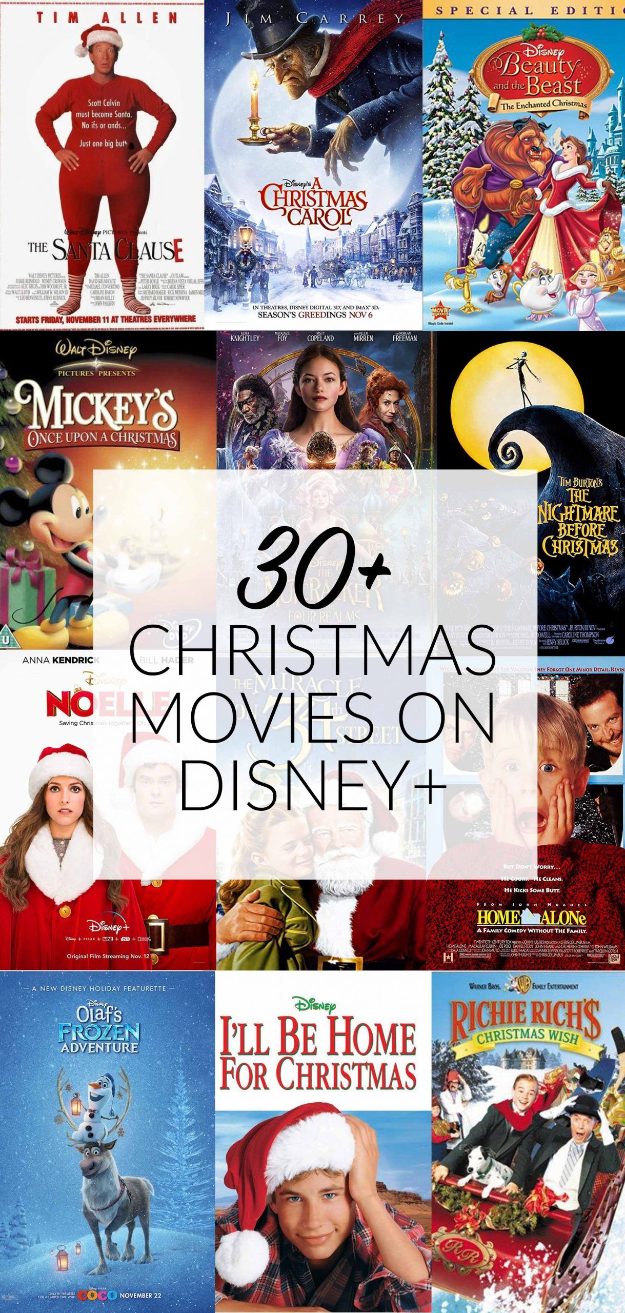 Looking for the best holiday movies to stream? Disney+ has over 30 Christmas movies to watch this season with your family! #ChristmasMovies