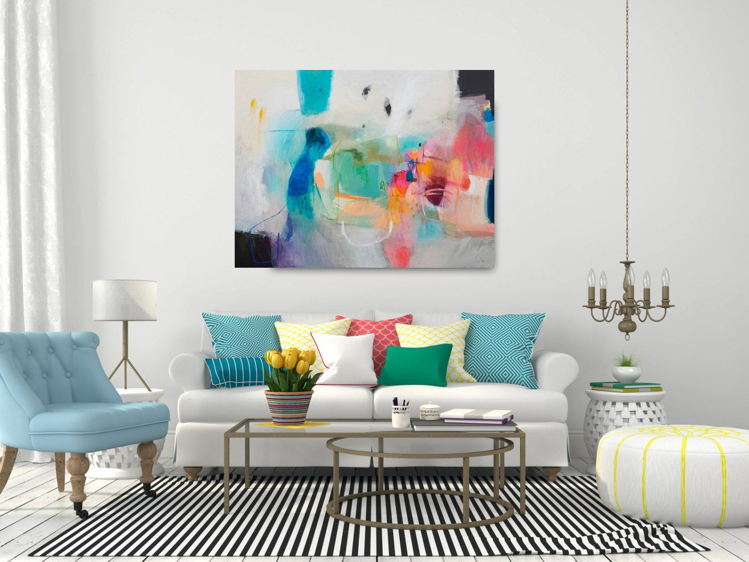 Abstract Painting Acrylic Painting Abstract Art Wall