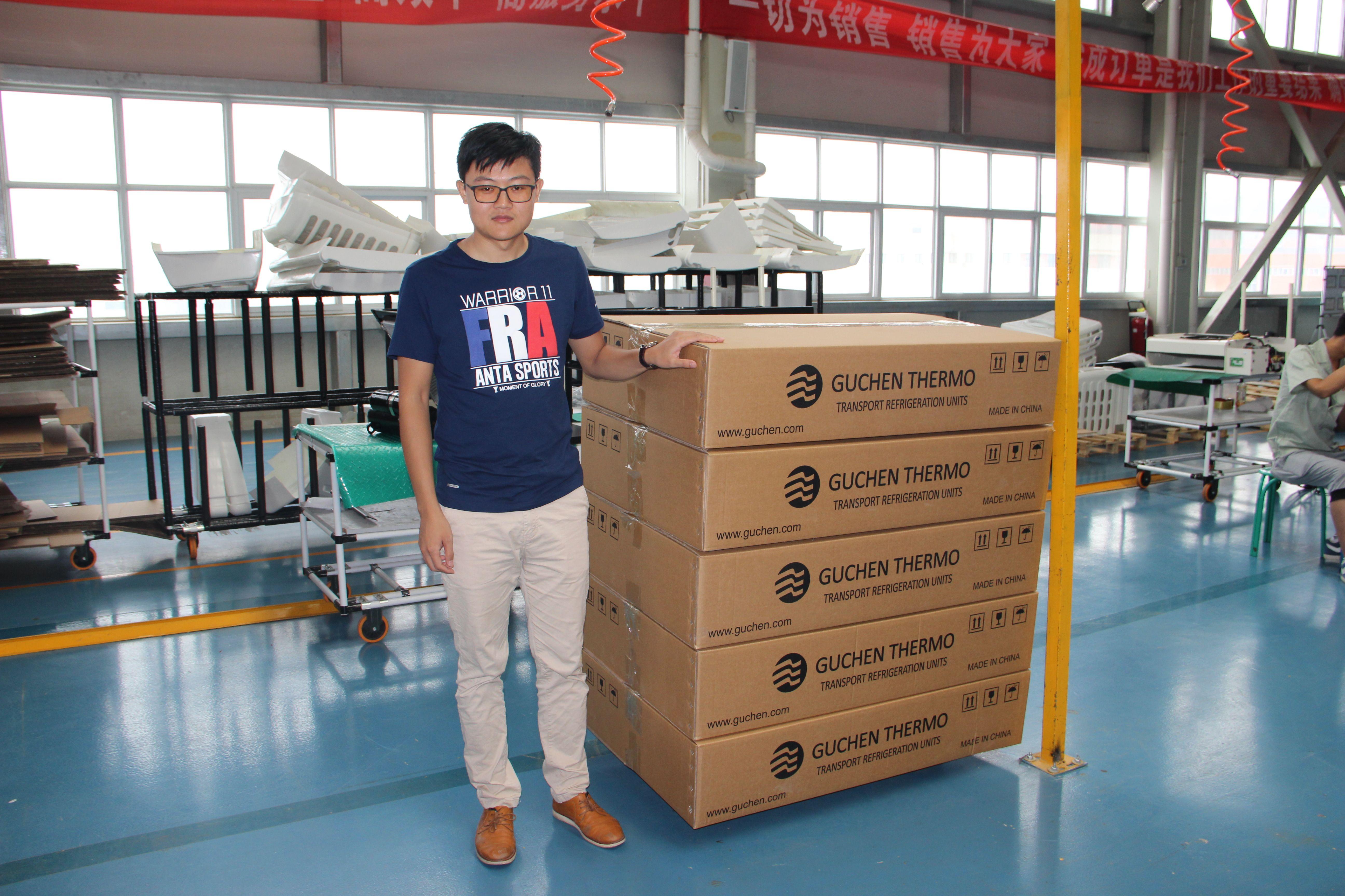guchen refrigeration unit shipping The unit, Pickup