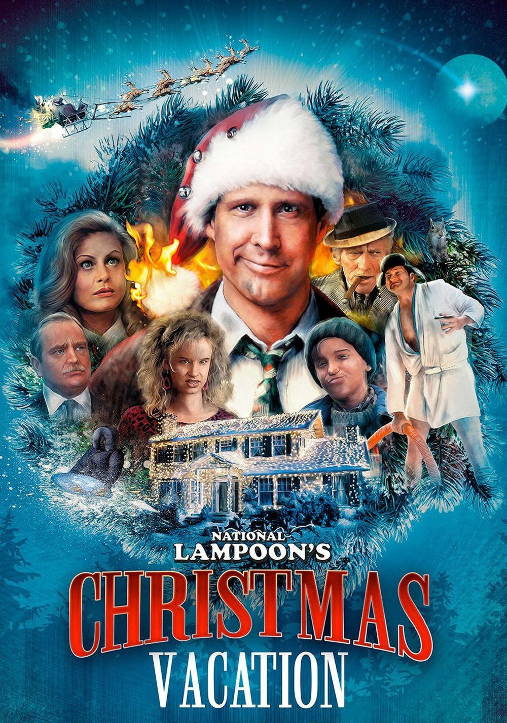 cue the arrival of his cousin eddie randy quaid a character who quickly makes christmas entirely gloriously manic - The Best Christmas Of All