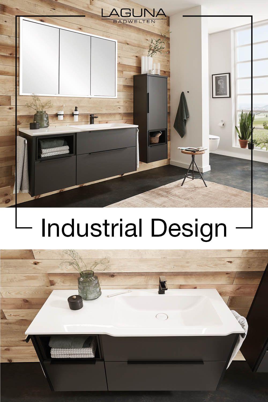 Badezimmer Im Industrial Design In 2020 Bad Inspiration Industriedesign Badezimmer