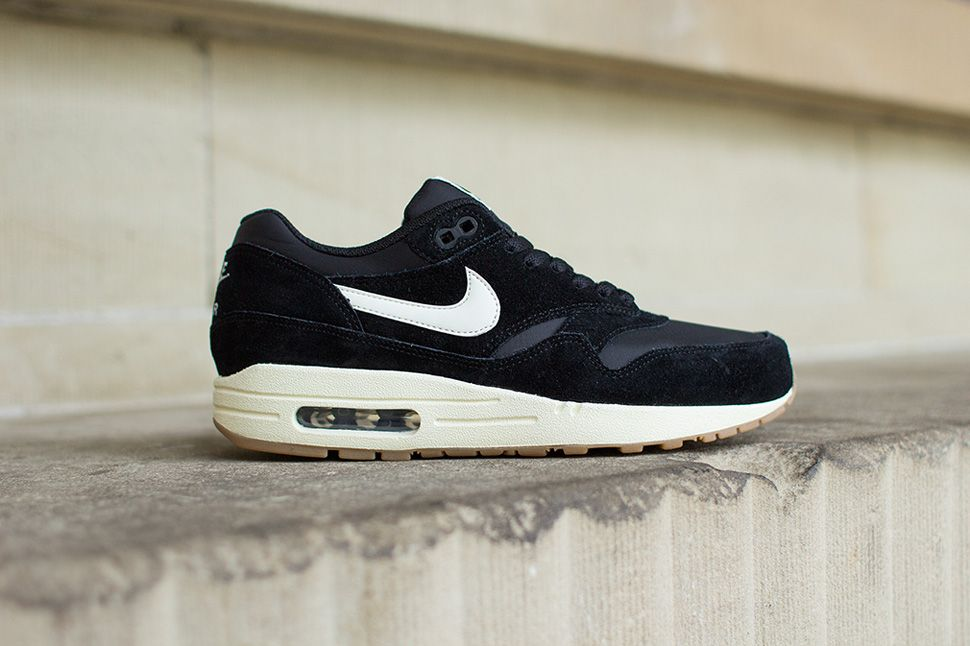 Nike Air Max 1 90s Sole En Noir Et Blanc Womens Air Max
