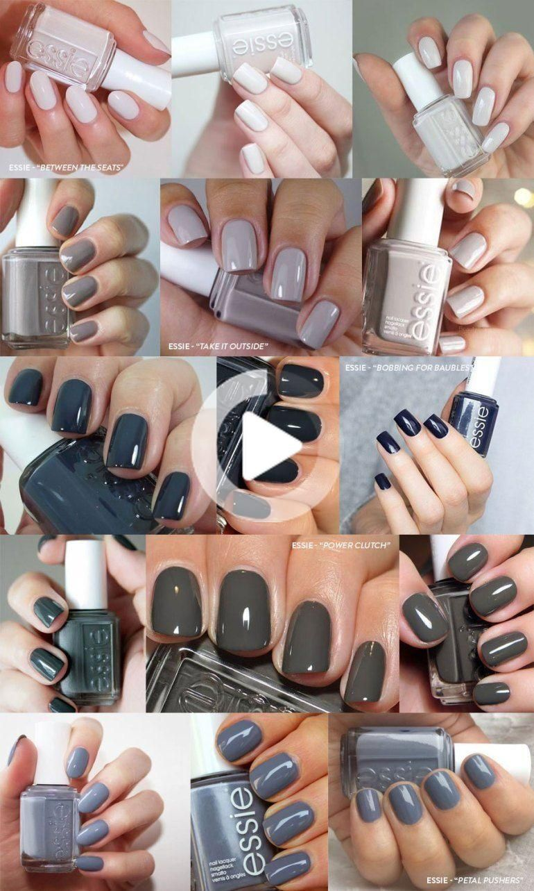 5 Neutral Nail Colors You Need This Fall In 2020 Neutral Nail Color Neutral Nail Polish Colors Neutral Nails
